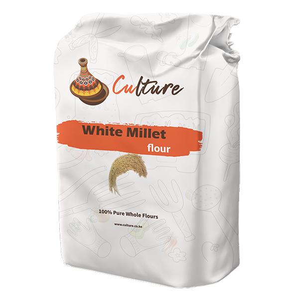 White millet flour