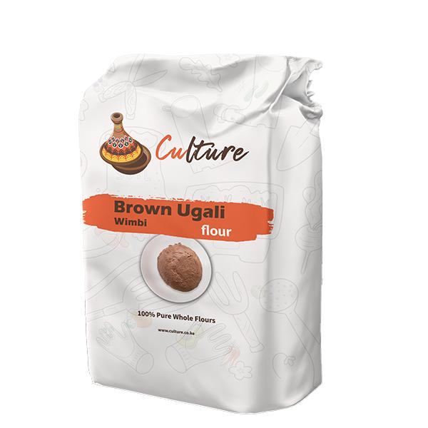 brown ugali flour