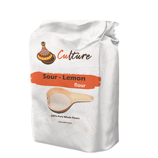 Culture Sour Fermented Lemon Flour